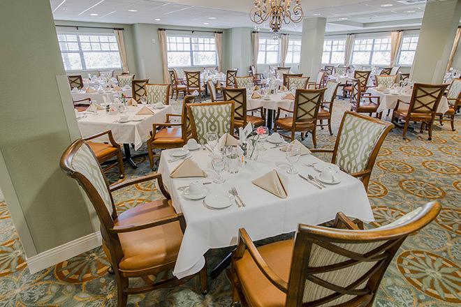 Lake Port Square Dining Room