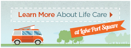 Learn More About Brookdale Life Care at Lake Port Square