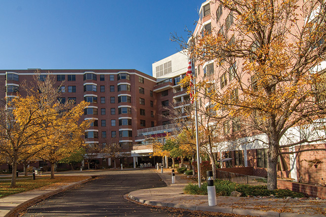 Brookdale Meridian Englewood Skilled Nursing Entrance