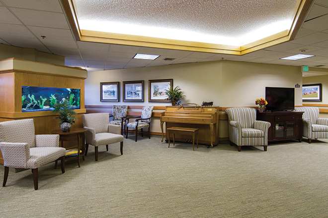 Brookdale Meridian Englewood Skilled Nursing Common Area