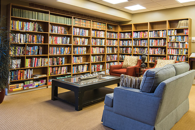 Brookdale Meridian Englewood Skilled Nursing Library