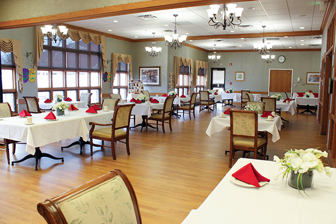 Robin Run Healthcare Center Dining Room