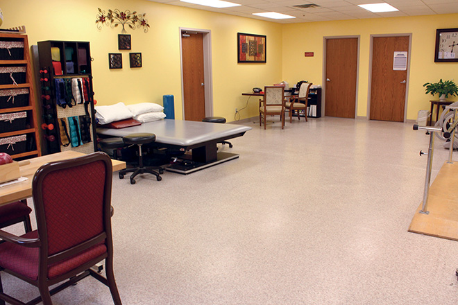 Robin Run Healthcare Center Therapy Room