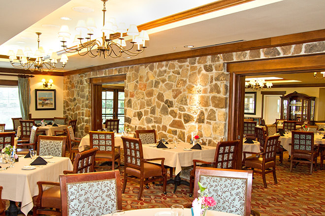 The Village at Gleannloch Farm Dining Room