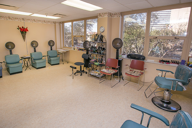 Holmgreen Center at Brookdale Trinity Towers Salon