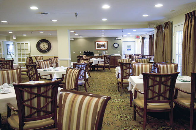 Brookdale Miami Township Dining Room
