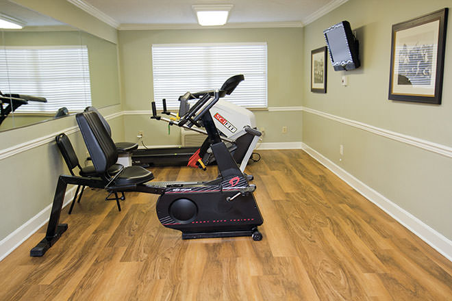 Brookdale Miami Township Fitness Room
