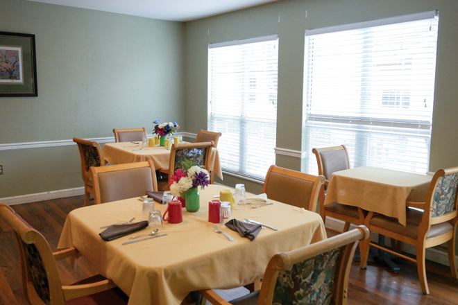 Brookdale East Mesa Dining Room