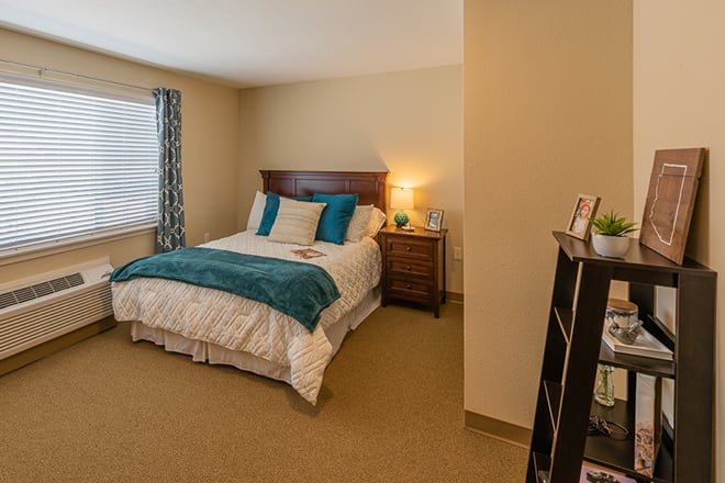 Brookdale Desert Ridge Memory Care Bedroom