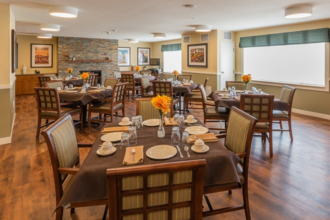 Brookdale Desert Ridge Memory Care Dining Room