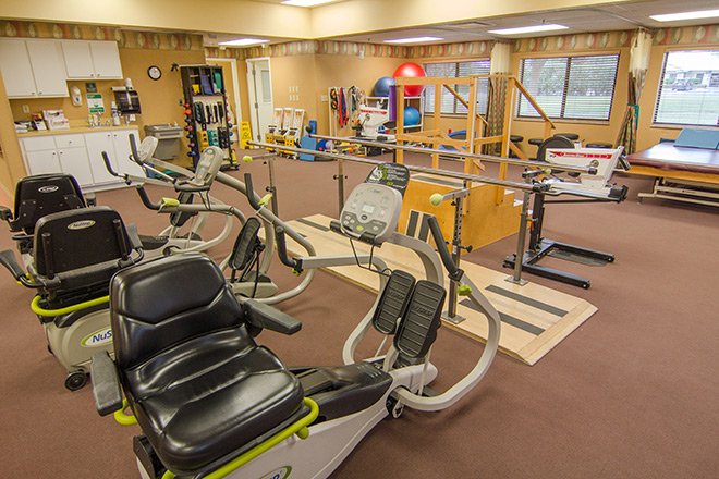 Lake Harris Health Center Therapy Room