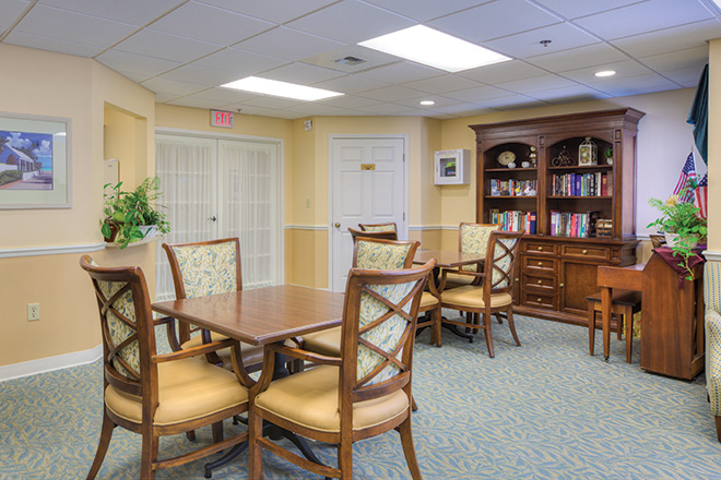 Healthcare Center at Regency Oaks Common Area