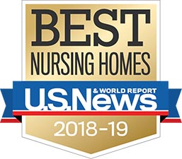 U.S. News Best Nursing Home Award 2018-2019