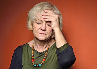 dealing with senior stress