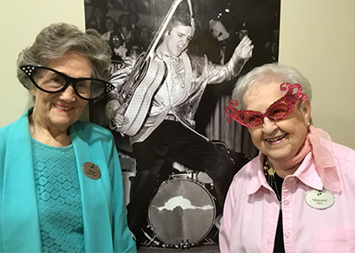 Two Brookdale residents remember Elvis