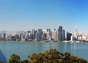 Bay Area skyline