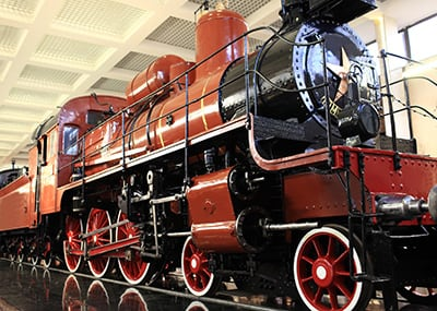 Denver train in museum
