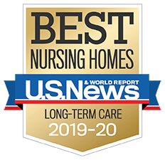 U.S. News Best Nursing Home Long-Term Care Award 2019-2020